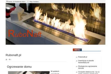 Rubonaft. Sp. z o.o. Paliwa, olej opałowy. Stacje paliw - Przetwórstwo paliw Kołobrzeg