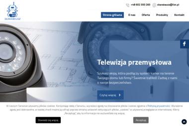 Skarabeusz Paweł Kuciak. Usługi telekomunikacyjne, komputerowe, elektryczne - Sieci komputerowe Ząbki