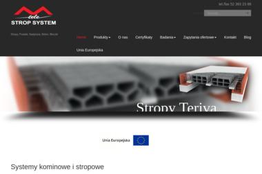 Wytwórnia Materiałów Budowlanych Tele-Strop-System G.Radzikowski - Prefabrykaty Betonowe Barcin