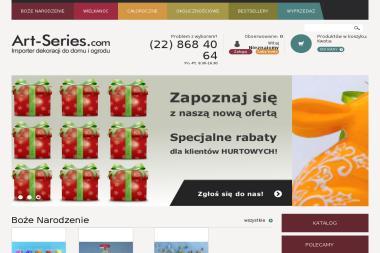 Art-Series. Sp. z o.o. Importer art. dekoracyjnych i świątecznych - Dekorator wnętrz Warszawa