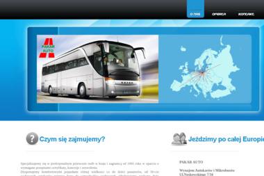 Pakar-Auto. Wynajem autobusów i mikrobusów z kierowcą - Wypożyczalnia Aut Gdańsk