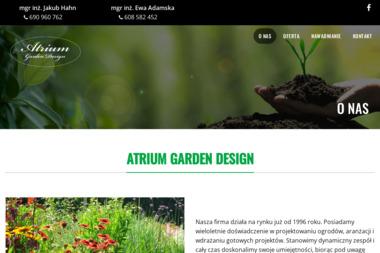 ATRIUM Garden Design - Projektowanie ogrodów Wrocław