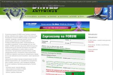Oprogramowanie antywirusowe. Doctor Web, AntySpam, firewall - Oprogramowanie Poznań