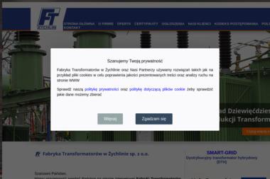 Fabryka Transformatorów w Żychlinie - Zaopatrzenie w energię elektryczną Żychlin gm. Żychlin