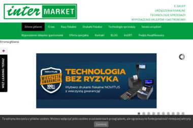 Inter Market. PHU. Kasy fiskalne, wagi, serwis - Urządzenia dla firmy i biura Wrocław