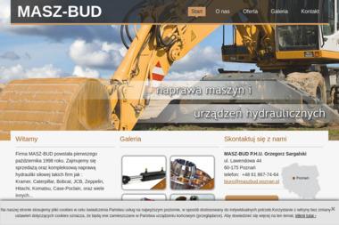 Masz-Bud. Naprawa i sprzedaż elementów hydrauliki siłowej, maszyn budowlanych. Sargalski - Rury Miedziane Poznań