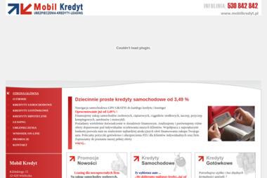 Mobil Kredyt. Ubezpieczenia, Kredyty, Leasing - Kredyt Obrotowy Wieliczka