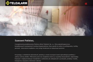 Telealarm. Zabezpieczenia przeciwpożarowe - BHP, ppoż, bezpieczeństwo Warszawa