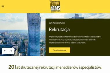 Yellow Heads Polska. Sp. z o.o. Doradztwo personalne, rekrutacja - Agencja Doradztwa Personalnego Warszawa
