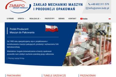 Zakład mechaniki maszyn i produkcji opakowań - Maszyny i urządzenia różne Łódź