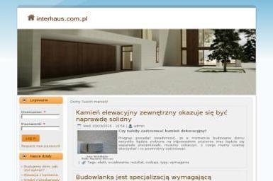 Interhaus M. Zarychta sp. z o.o. - Budowa Domu z Bali Koszalin