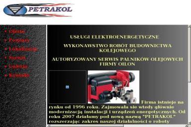 """""""PETRAKOL"""" - Projektant instalacji elektrycznych LEGNICA"""