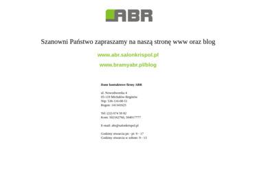 ABR - Bramy garażowe Warszawa