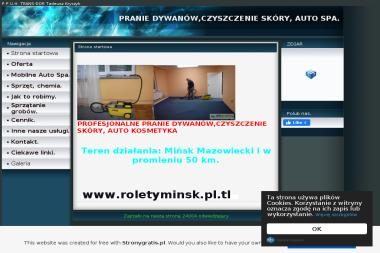 P.P.U.H. TRANS-DOR - Mycie Szyb Mińsk Mazowiecki