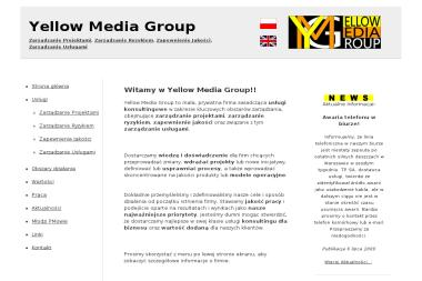 YELLOW MEDIA GROUP - Firma konsultingowa Warszawa