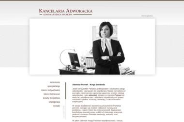 Kancelaria Adwokacka adwokat Kinga Swoboda - Adwokat Poznań