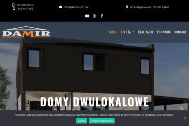 DAMIR - dom w 100 dni: technologia kanadyjska, domy z drewna, realizacja wszystkich projektów przez - Malowanie Natryskowe Warszawa