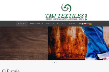 TMJ TEXTILES - Odzież używana Wiązowna