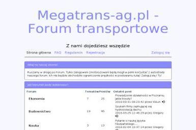 MEGATRANS AG - Przeprowadzki Ostrówek