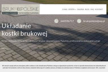Bruki Polskie - Układanie kostki brukowej Poznań