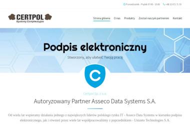 Certpol Sp. z o.o. - Grafik komputerowy Zawiercie