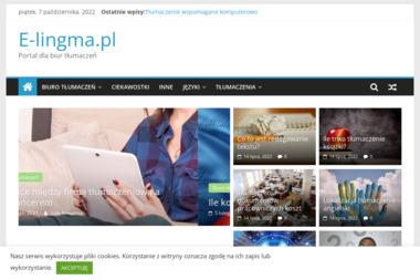Internetowe Centrum Tłumaczeń e-lingma - Biuro Tłumaczeń Słupca