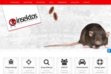 Przedsiębiorstwo Handlowo - Usługowe Insektos - Sprzątanie biur Siemianowice Śląskie