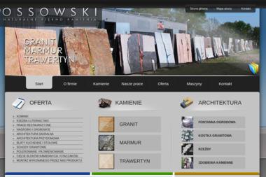 Ossowski - Zakład Kamieniarski - Domy szkieletowe Brusy