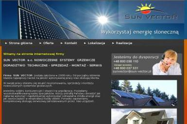 Sun Vector - Kolektory słoneczne Białogard