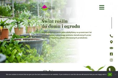 """Centrum Ogrodnicze """"Dom w Ogrodzie"""" S.C. J.Lirska & J.Kaliński - Meble Warszawa"""