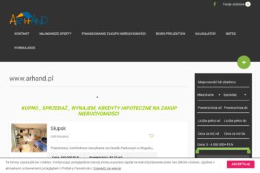 Nieruchomości AR-HAND - Agencja nieruchomości Słupsk