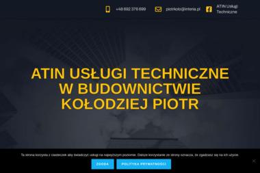 ATIN Usługi Techniczne w Budownictwie Kołodziej Piotr - Kierownik budowy Stary Ujazd