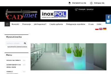 CADMET Biuro Projektowo-Konstrukcyjne - Ogrodzenia kute Toruń