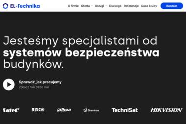 EL-Technika - Kamery do Monitoringu Sarnów