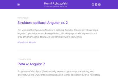 Firma Binti - Kamil Rybczyński - Grafik komputerowy Ozorków