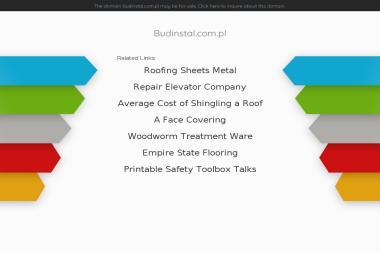BUDINSTALL - Projektowanie instalacji sanitarnych Tarnów