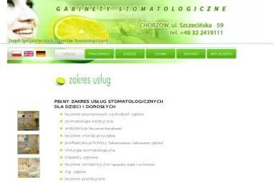 Zespół Specjalistycznych Gabinetów Stomatologicznych - Ortodonta Chorzów