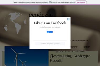 Geotras-Zakład Usług Geodezyjnych - Firma Geodezyjna Koszalin