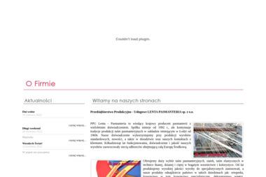 PPU Lenta - Pasmanteria sp. z o.o. - Sprzedaż Tkanin Łódź