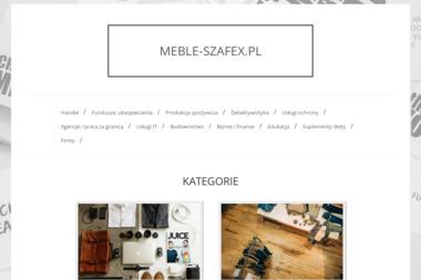 Szafex - Balustrady Schodowe Kobyłka