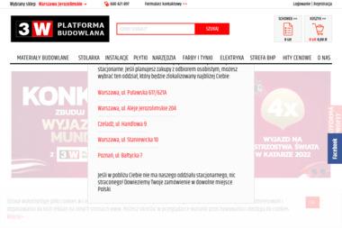 PLATFORMA - Materiały Budowlane - Prefabrykaty Betonowe Warszawa