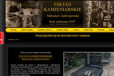 J臋drzejewski Miros艂aw Us艂ugi Kamieniarskie - Posadzki betonowe Gda艅sk