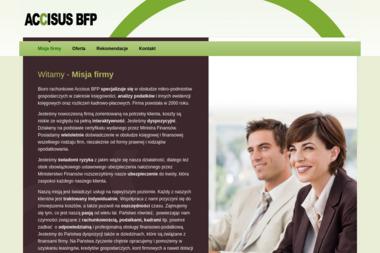ACCISUS BFP - Strony internetowe Legnica