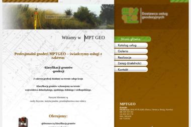 MPT GEO - Firmy inżynieryjne Marcinkowice