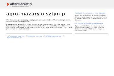 Agro-Mazury - Ekogroszek Olsztyn
