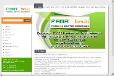 FAMA-bruk - Ziemia ogrodowa Dąbrowa