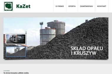 KAZET PUH - Ekogroszek Dąbrowa Górnicza