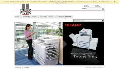 Polyfax- Centrum Sharp Poznań kserokopiarki i inne urządzenia biurowe - Wyposażenie firmy i biura Poznań