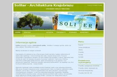 SOLITER Architektura Krajobrazu - Projektowanie Ogrodów Zimowych Wrocław