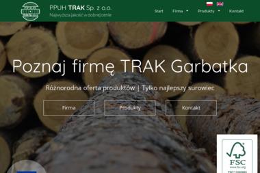 """PPUH """"TRAK"""" Sp. z o.o. T.Kwaśnik, Z. Przerwa - Brykiet drzewny Garbatka-Letnisko"""
